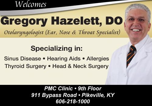 PMC Welcomes Dr. Greg Hazelett
